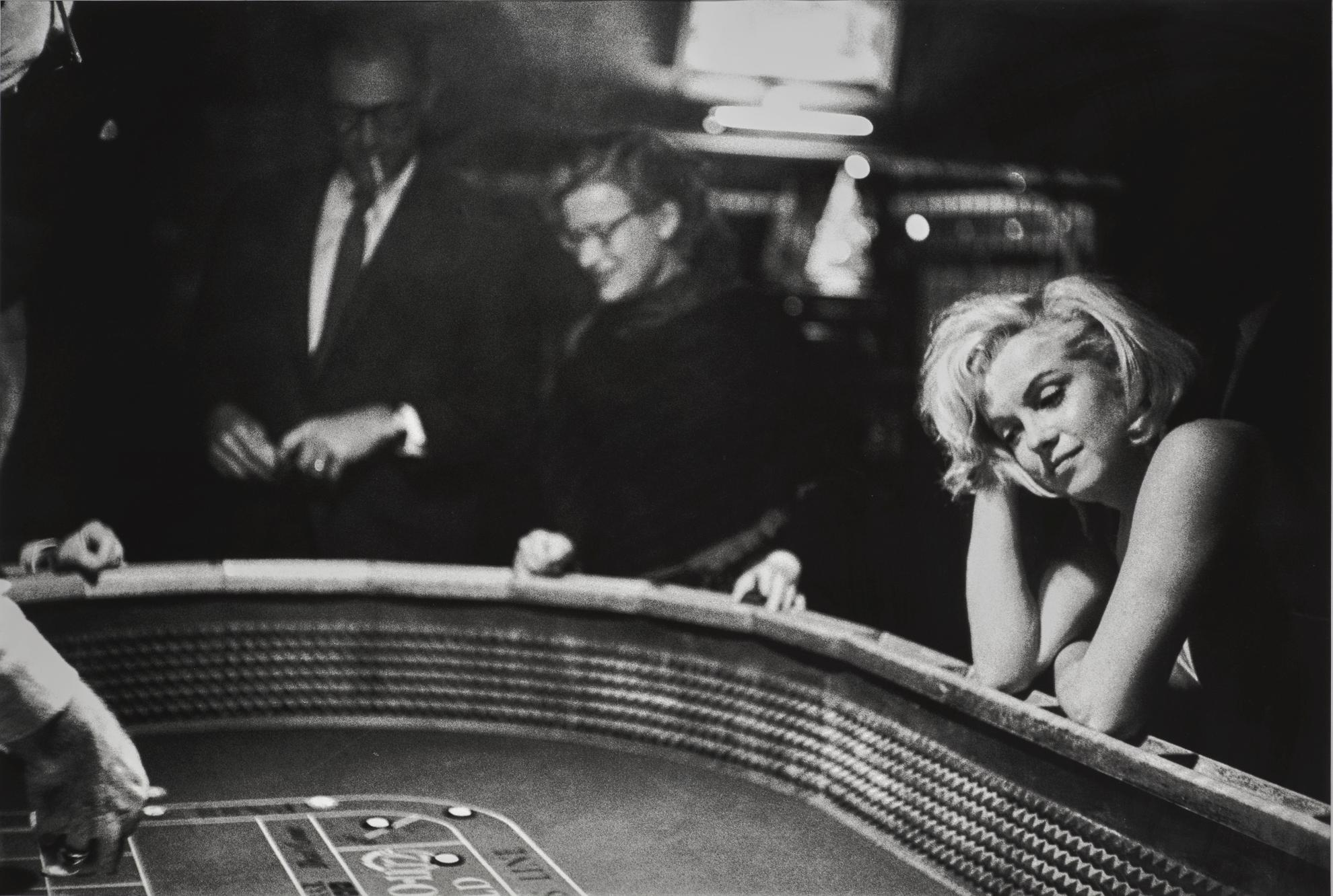 Eve Arnold-The Cast And Crew Of The The Misfits At The Casino, Reno-1960