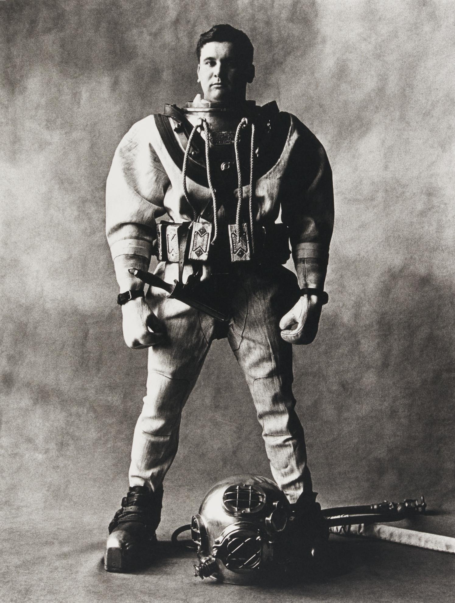 Irving Penn-Deep Sea Diver, New York-1951
