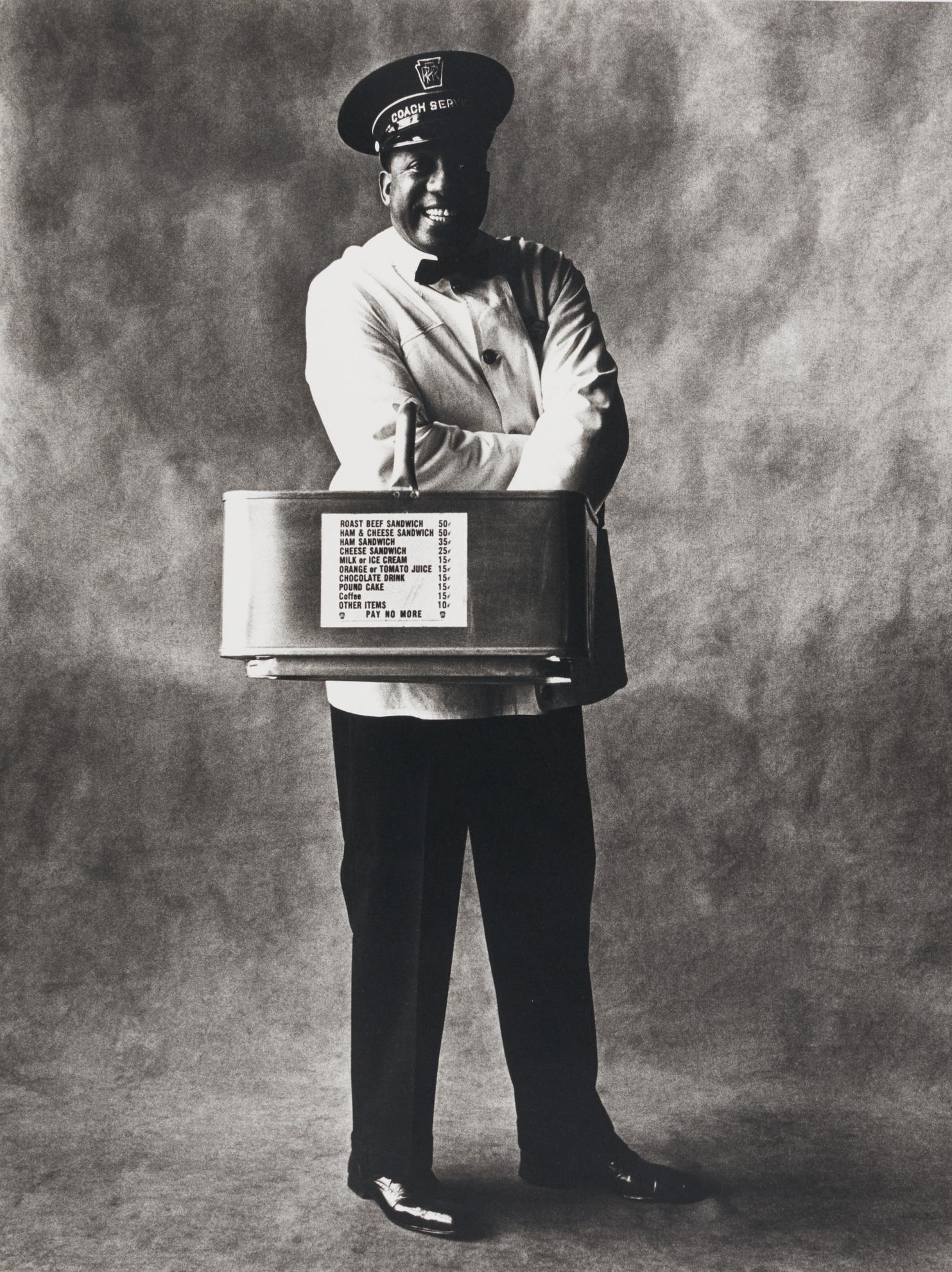 Irving Penn-Train Coach Waiter, New York-1951