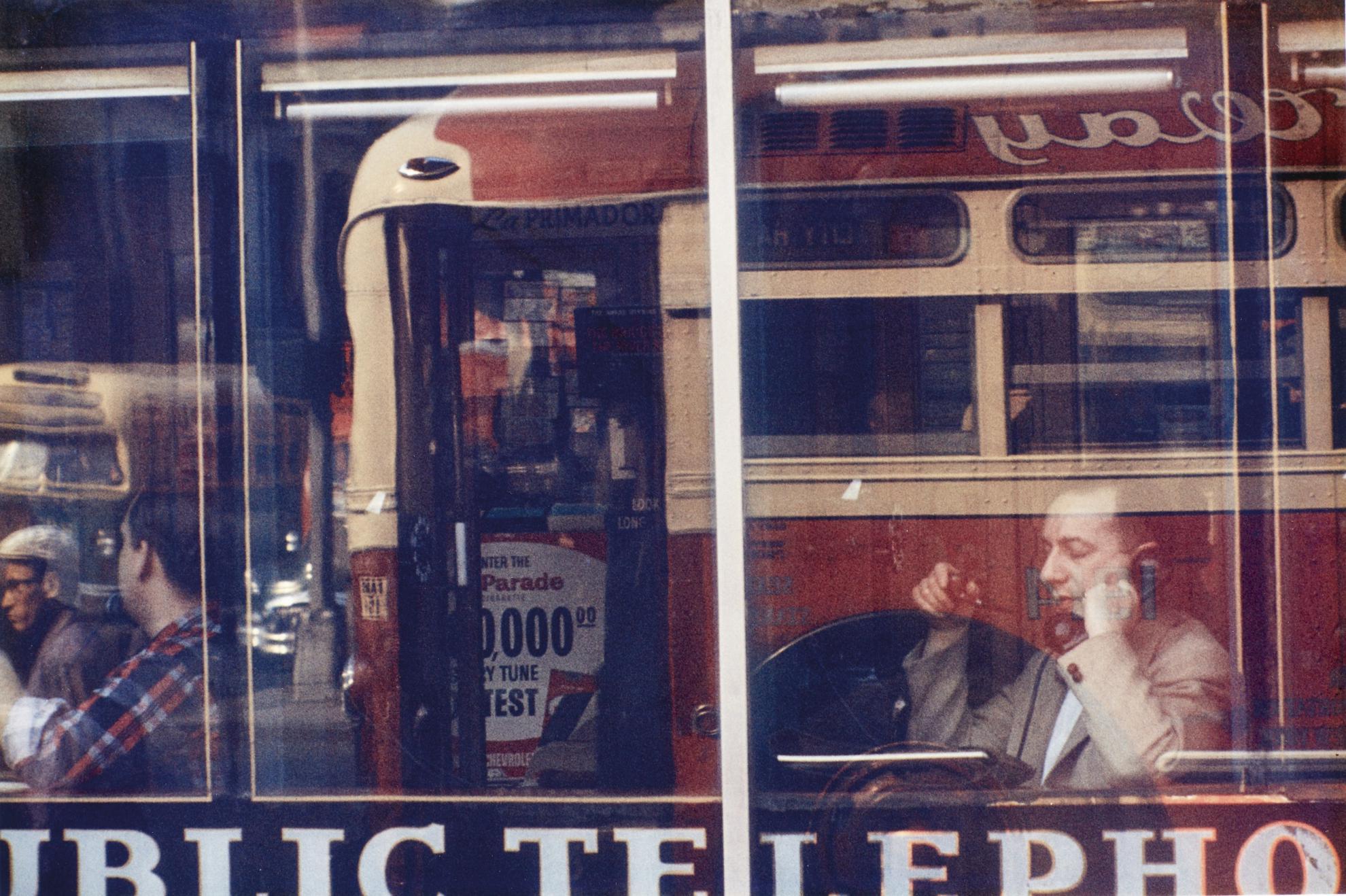 Saul Leiter-Phone Call-1957