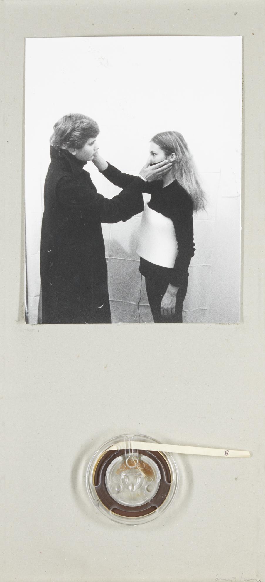 Sanja Ivekovic-Inaugurazione Alla Tommaseo-1978