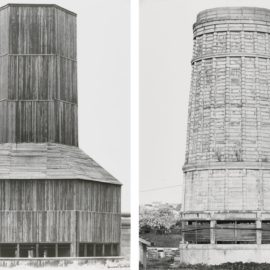 Bernd and Hilla Becher-Kuhlturme (Cooling Towers) (2 Works)-1967