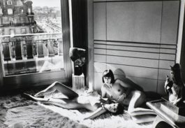 Helmut Newton-Mannequins Reclining, Quai Dorsay, Paris, 1977 (From Private Property Suite III))-1977