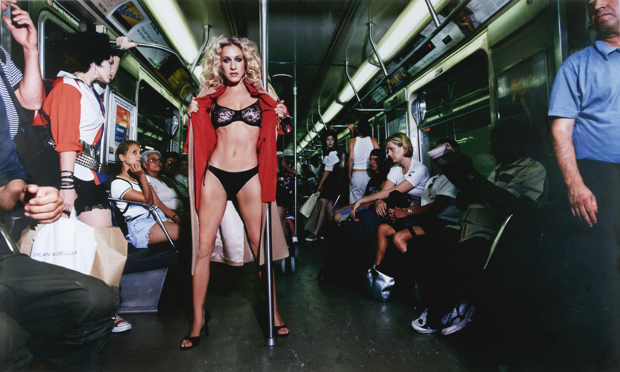 David LaChapelle-Sarah Jessica Parker, Sex And The Subway, New York-1999