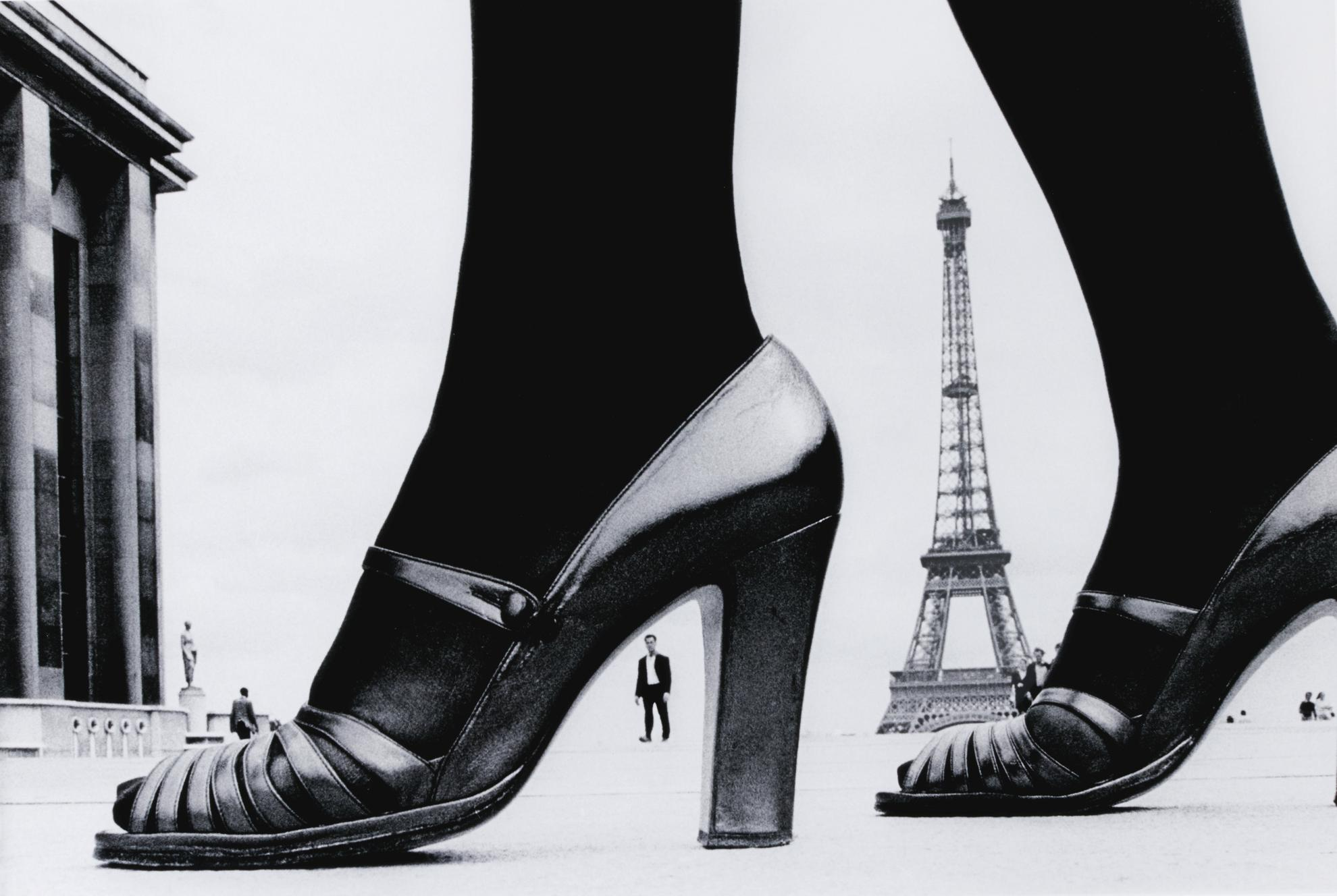 Frank Horvat-Shoe And Eiffel Tower (A), Paris-1974