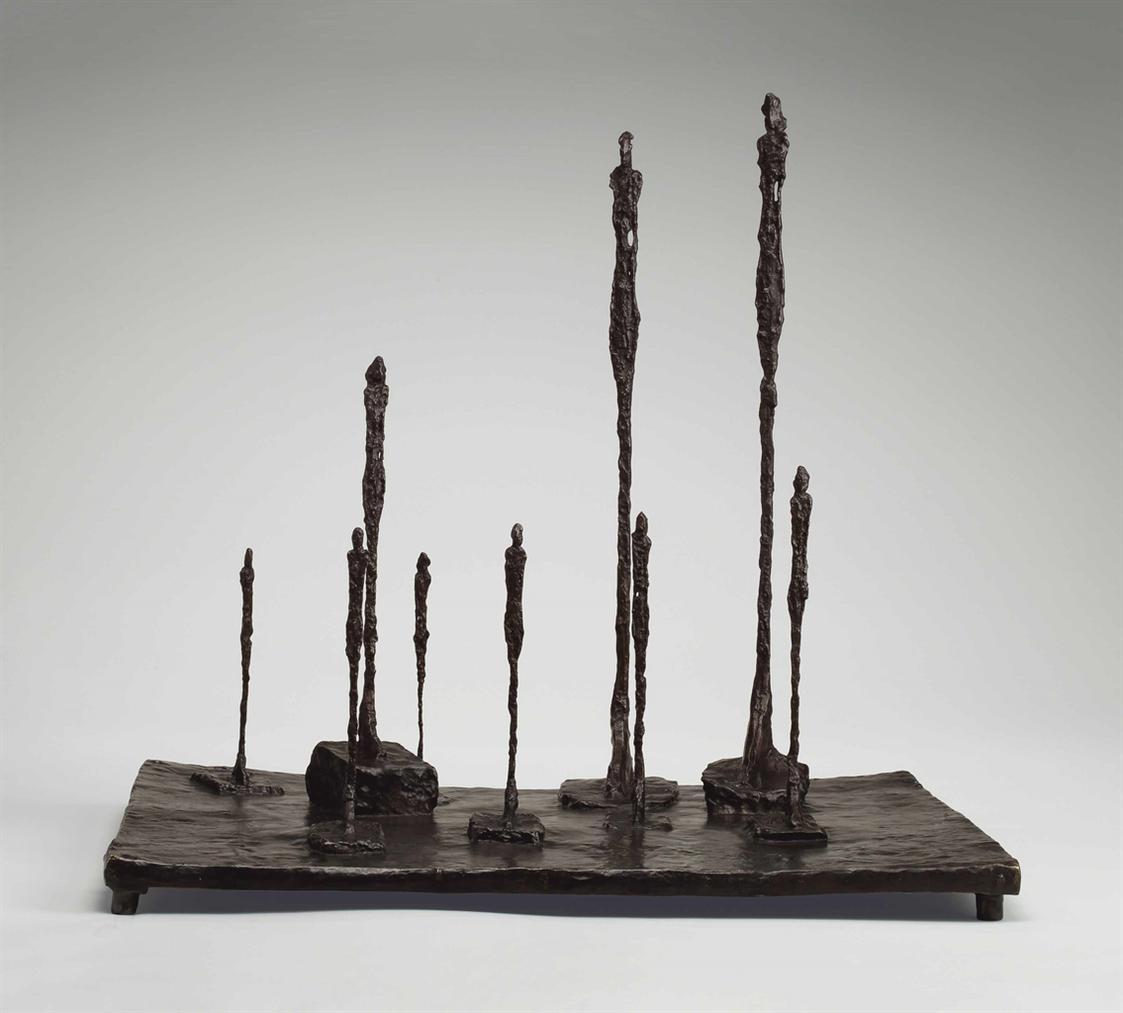 Alberto Giacometti-La Clairiere-1952