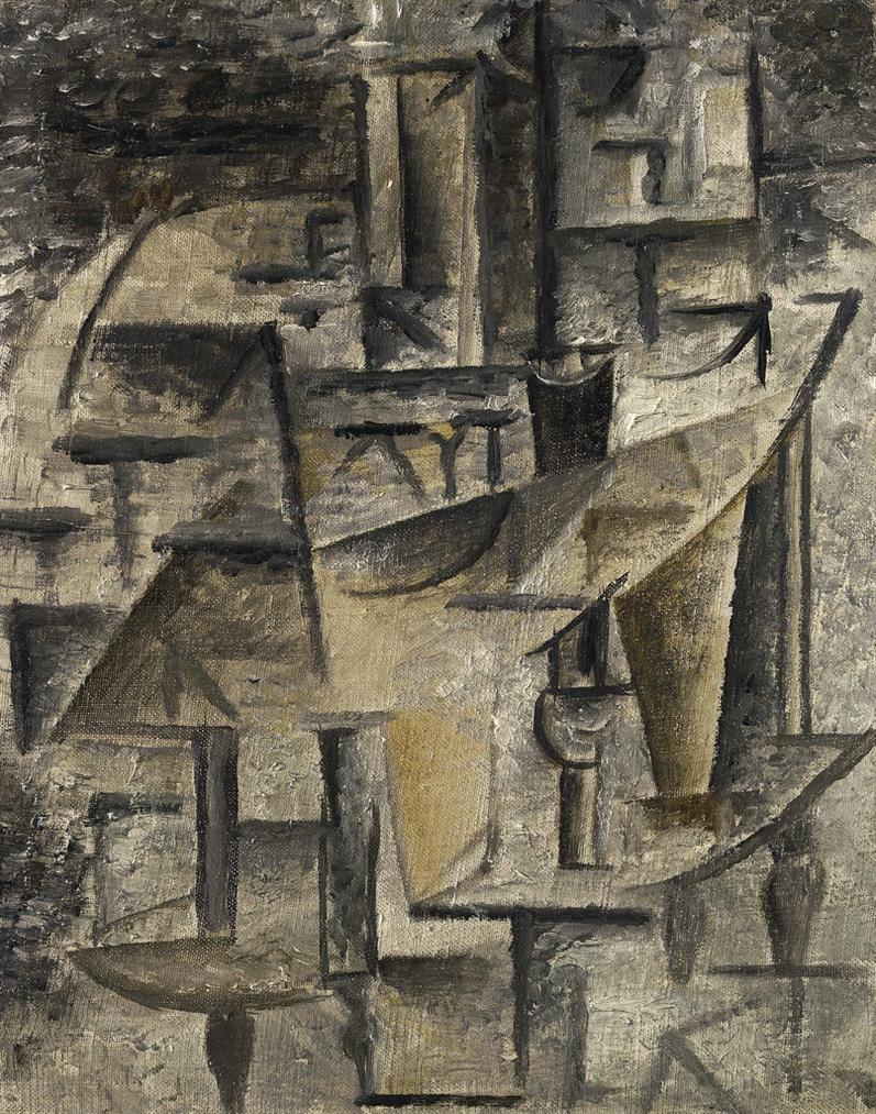 Pablo Picasso-Lhuilier-1911