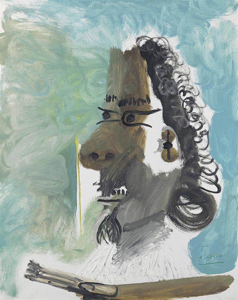 Pablo Picasso-Le Peintre-1967