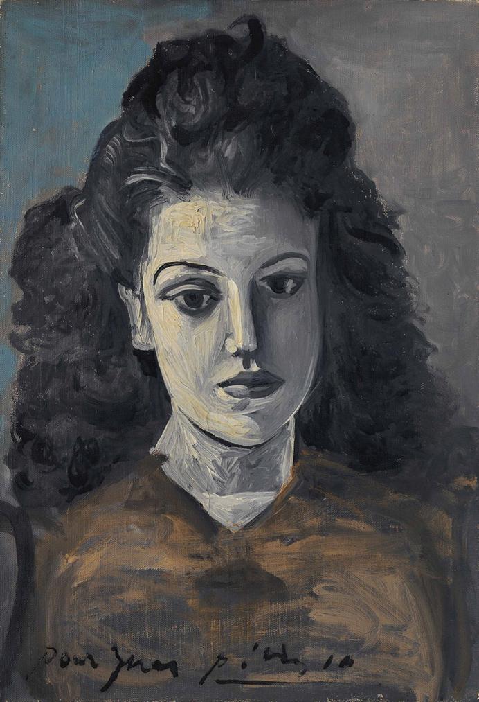 Pablo Picasso-Portrait Dines-1942