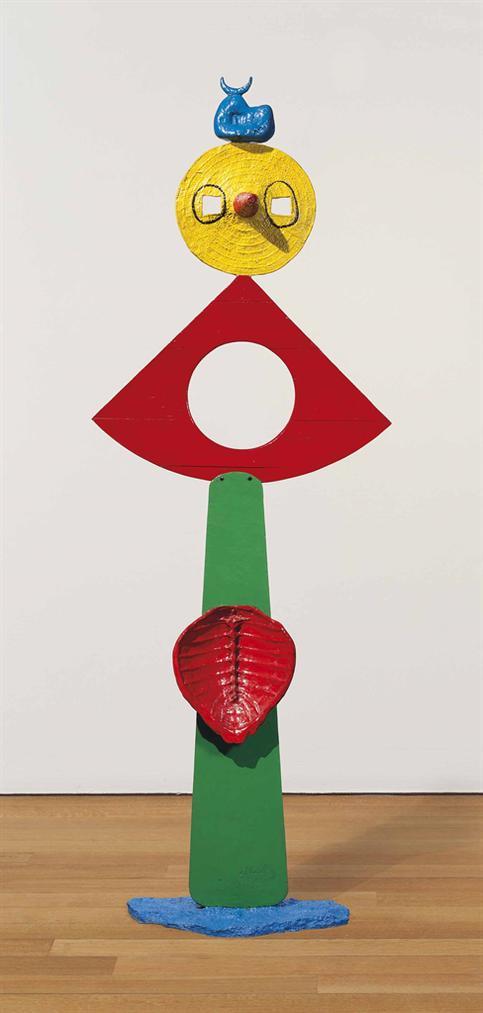 Joan Miro-La Caresse Dun Oiseau-1967