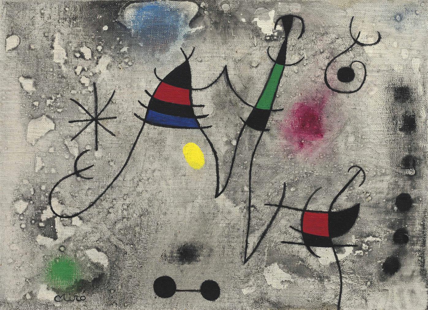 Joan Miro-Lenvolee II-1963