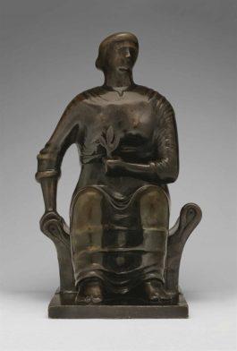 Henry Moore-Seated Figure-1966