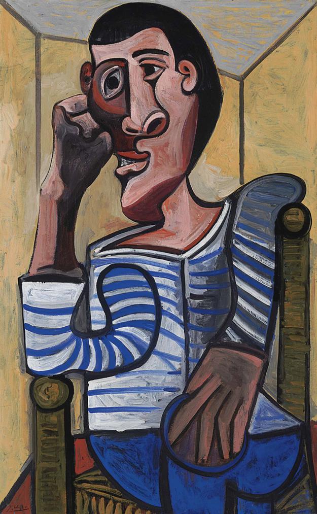 Pablo Picasso-Le Marin-1943