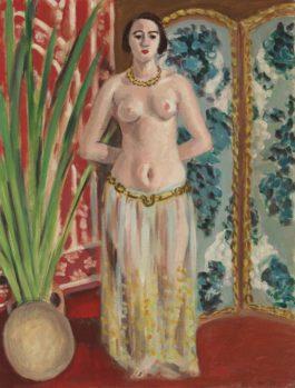 Henri Matisse-Odalisque, Mains Dans Le Dos-1923