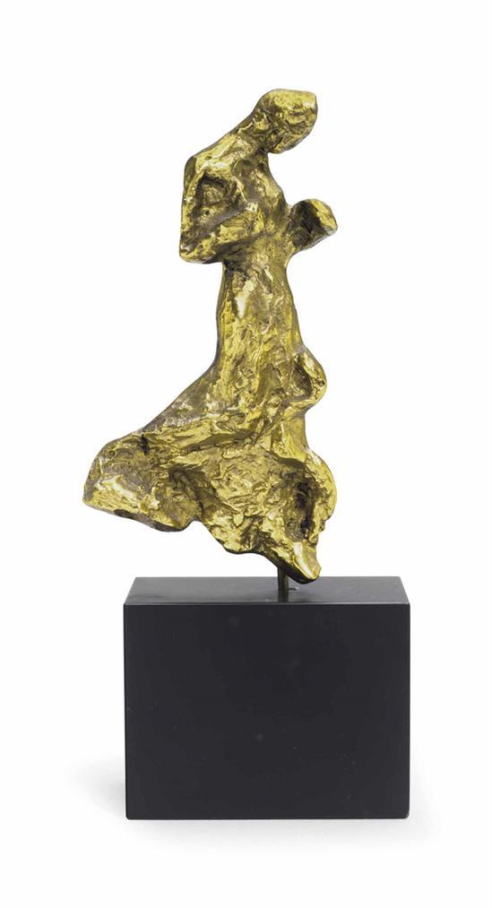 Alberto Giacometti-Broche, Silhouette Feminine-1939