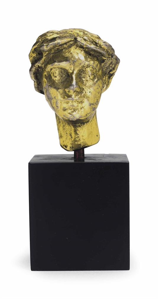 Alberto Giacometti-Petite Tete De Femme (Dite De Schiaparelli)-1939