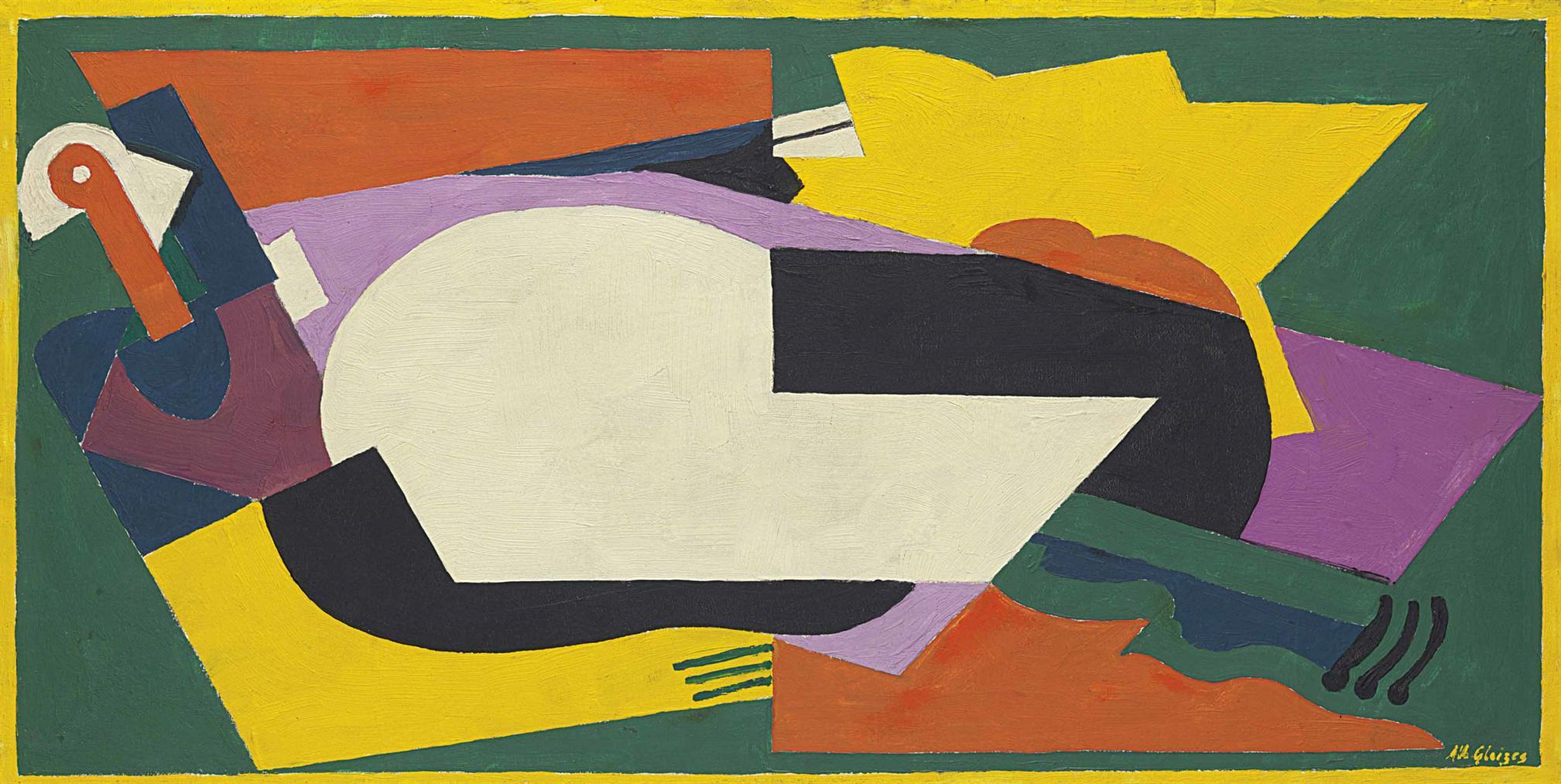 Albert Gleizes-Composition-1920