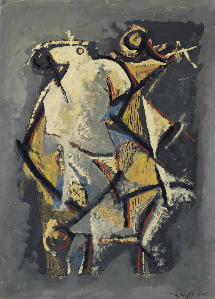 Marino Marini-Cavallo E Cavaliere-1955