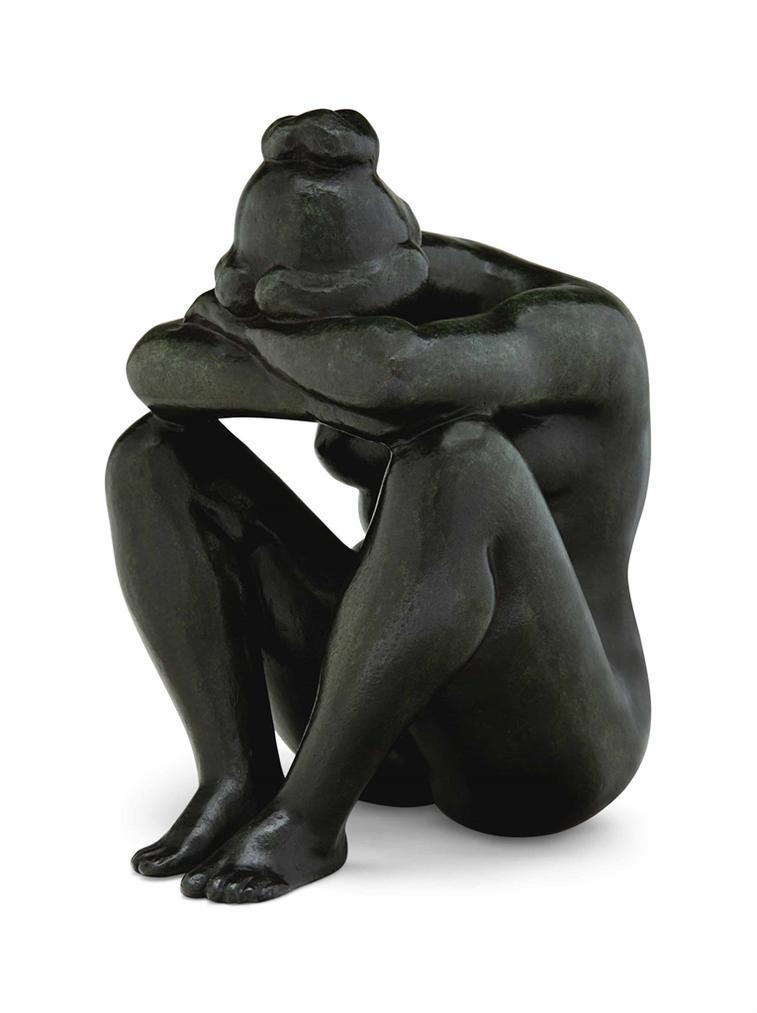 Aristide Maillol-La Nuit-1909