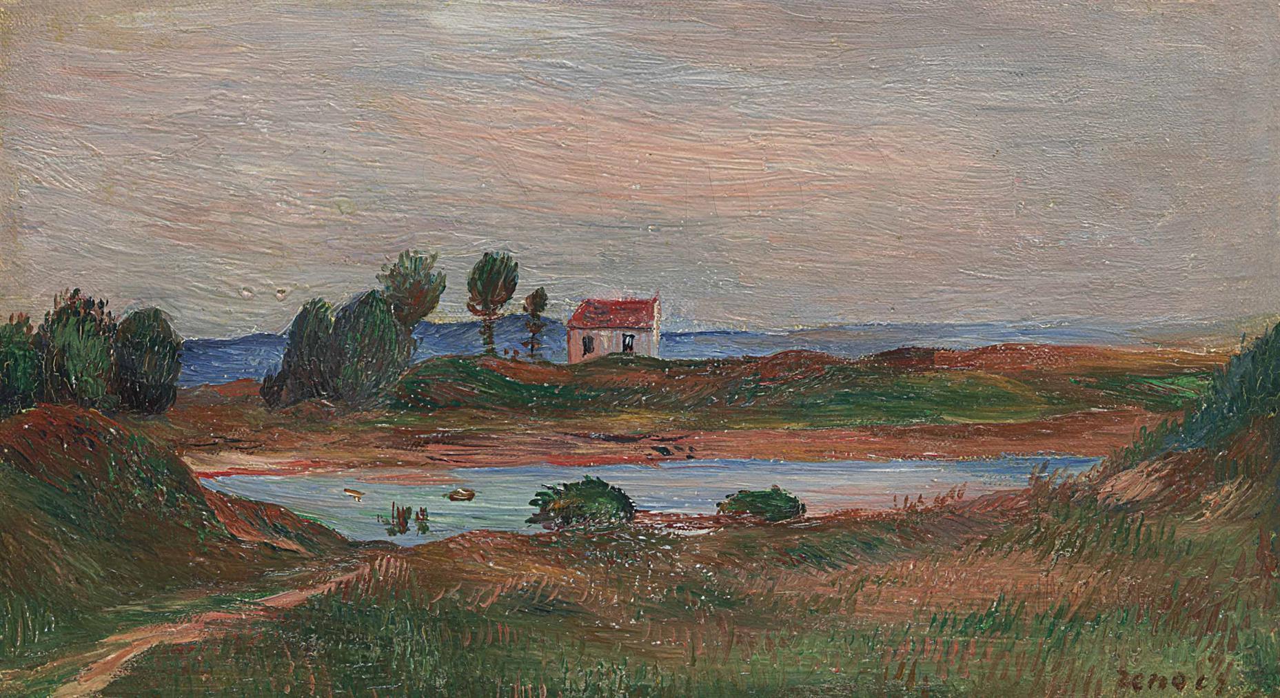 Pierre-Auguste Renoir-Vue De Bretagne-1894