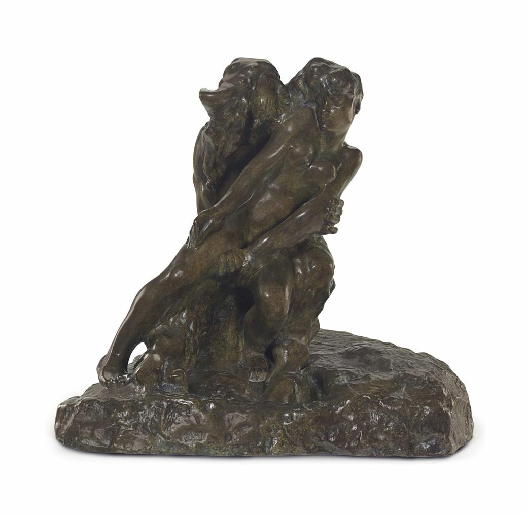Auguste Rodin-Minotaure, Version A La Base Carree-2013