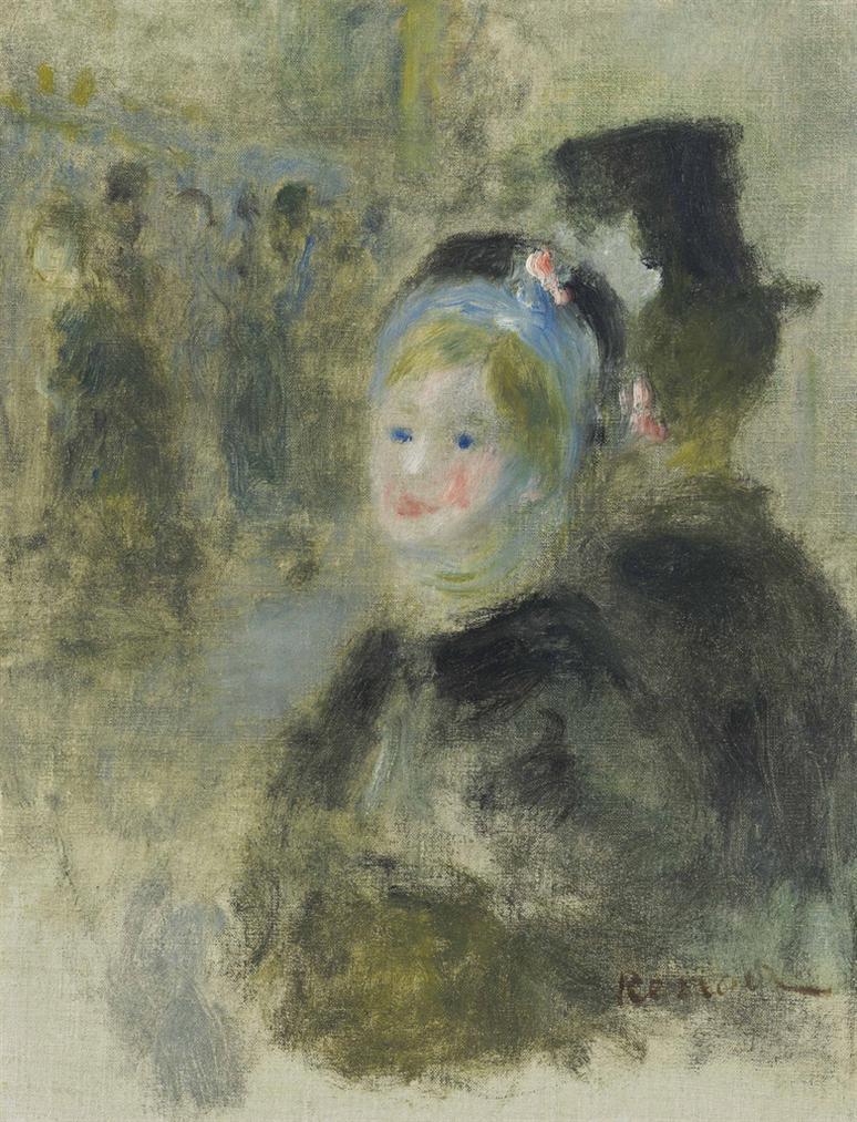 Pierre-Auguste Renoir-Etude Pour La Place Clichy-1880