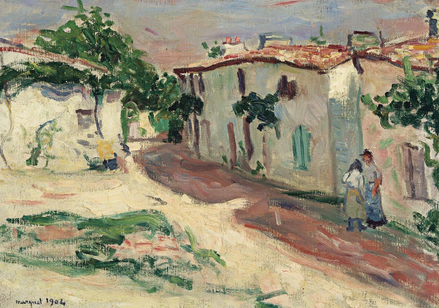 Albert Marquet-Rue De Village-1901