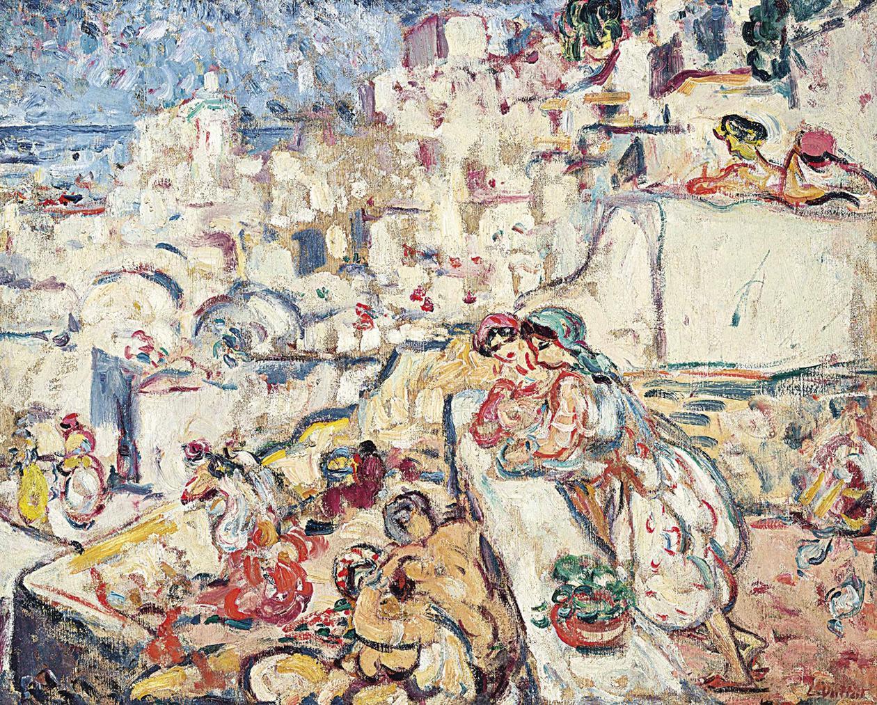Louis Valtat-Alger, La Casbah-1906