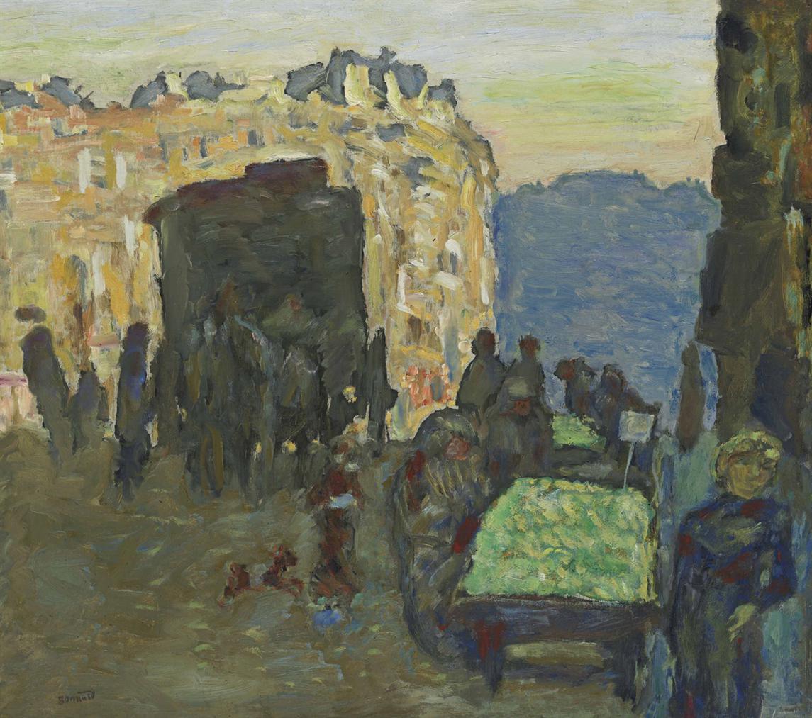 Pierre Bonnard-La Marchande Des Quatre-Saisons-1903