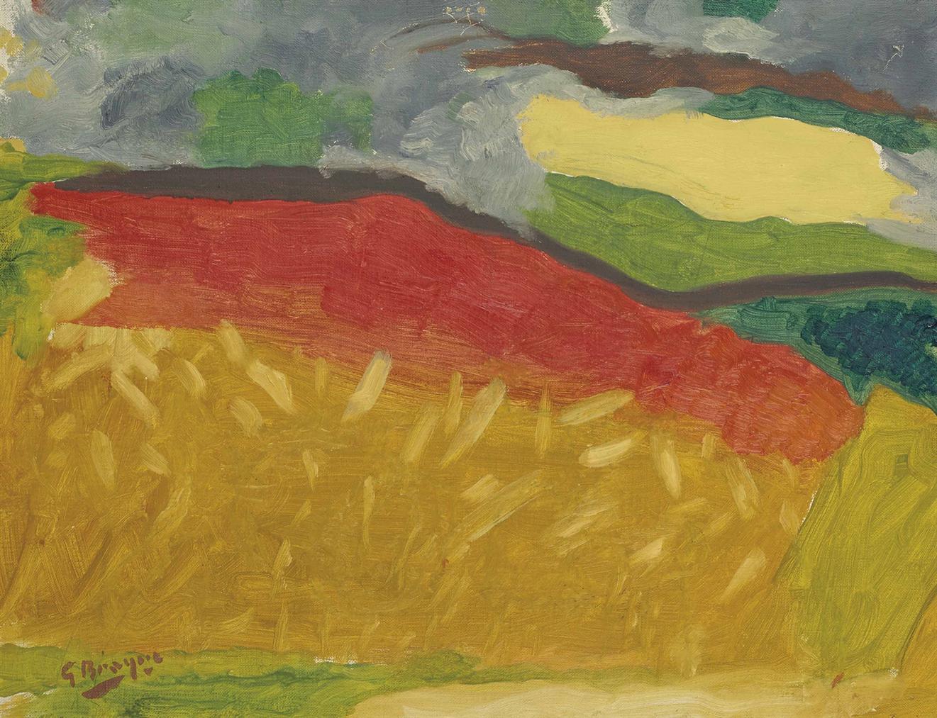 Georges Braque-Les Bles-1950
