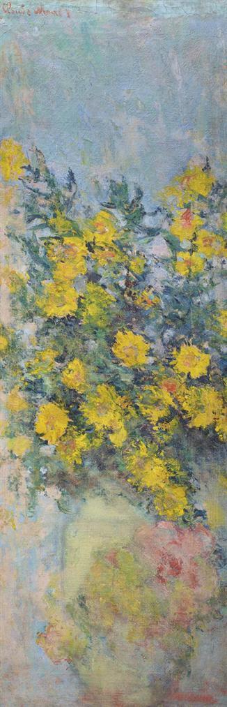 Claude Monet-Mauves-1883
