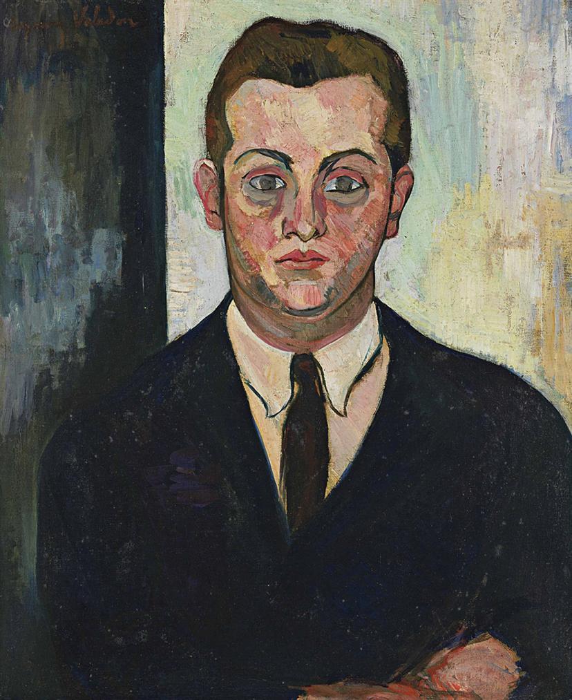 Suzanne Valadon-Portrait De Louis Moyses, Fondateur Du Boeuf Sur Le Toit-1924