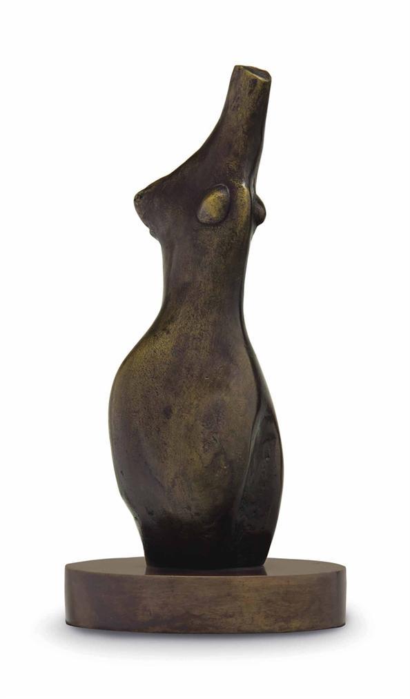 Henry Moore-Female Torso-1984
