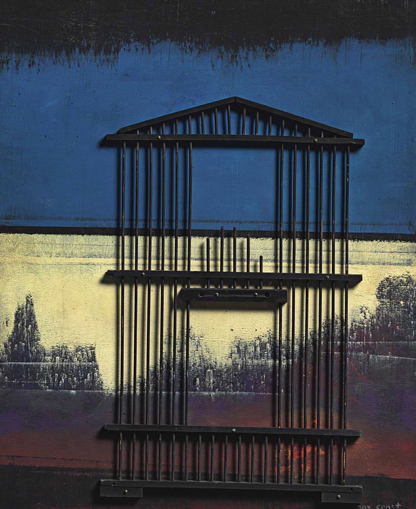 Max Ernst-La Liberte Detruite Par Labsence-1969