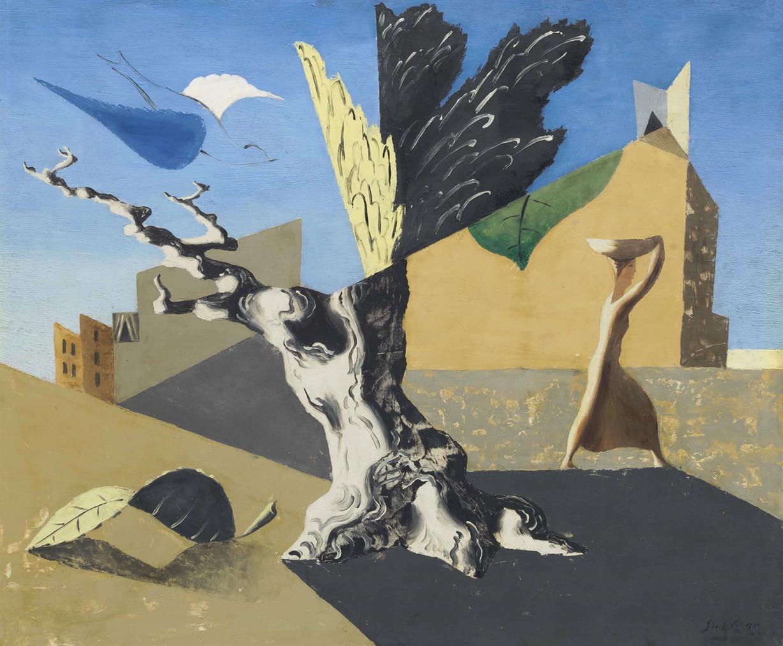 Leopold Survage-Paysage Surrealiste-1927