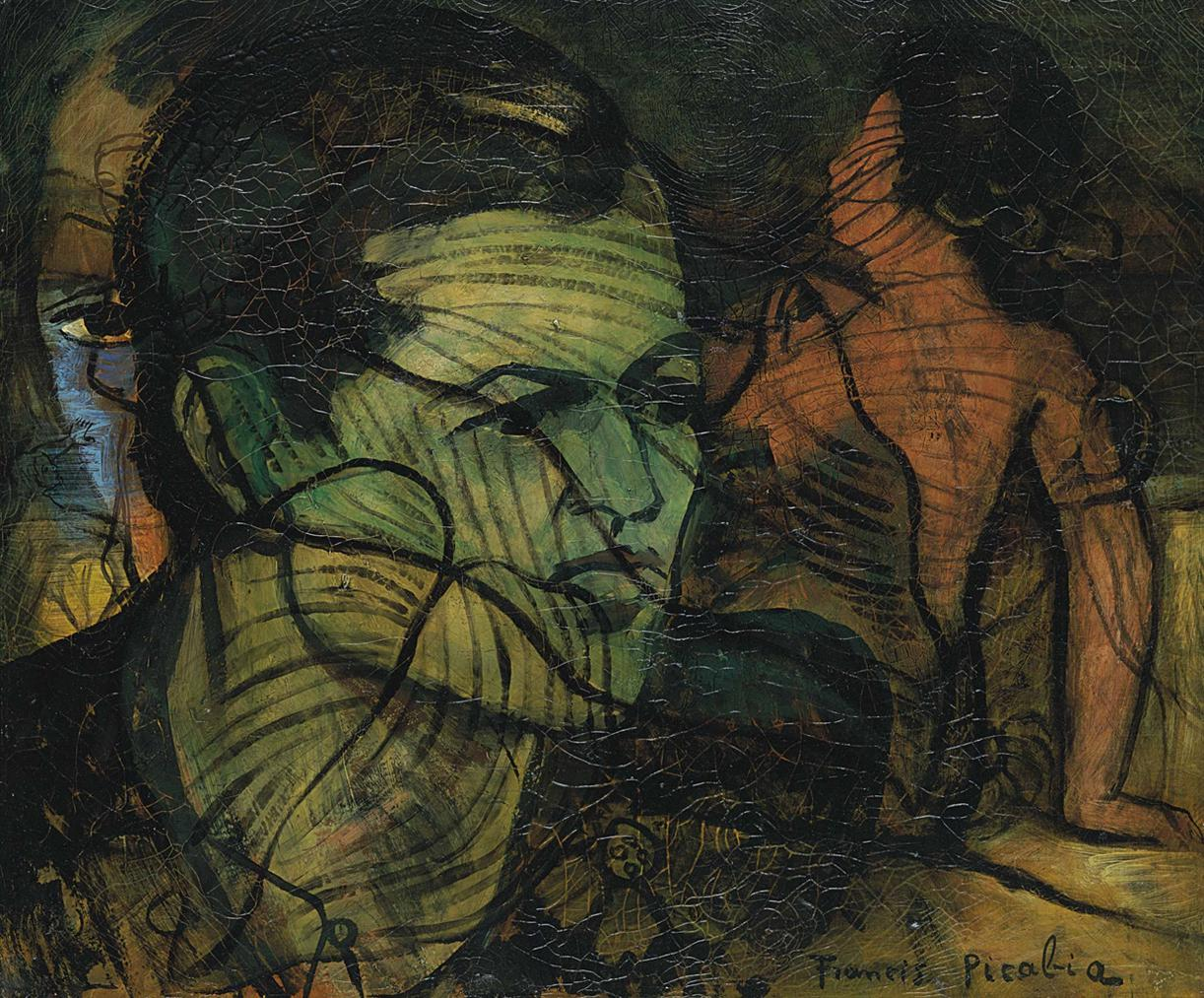 Francis Picabia-Transparence-1933