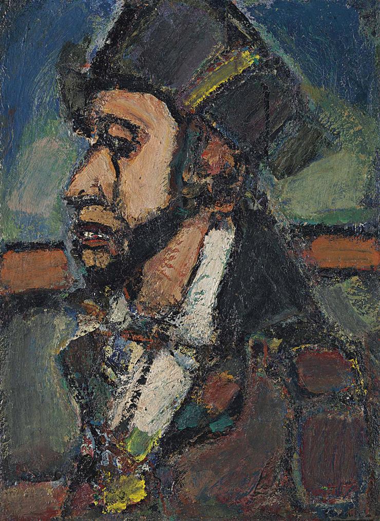 Georges Rouault-Le Dernier Romantique-1937