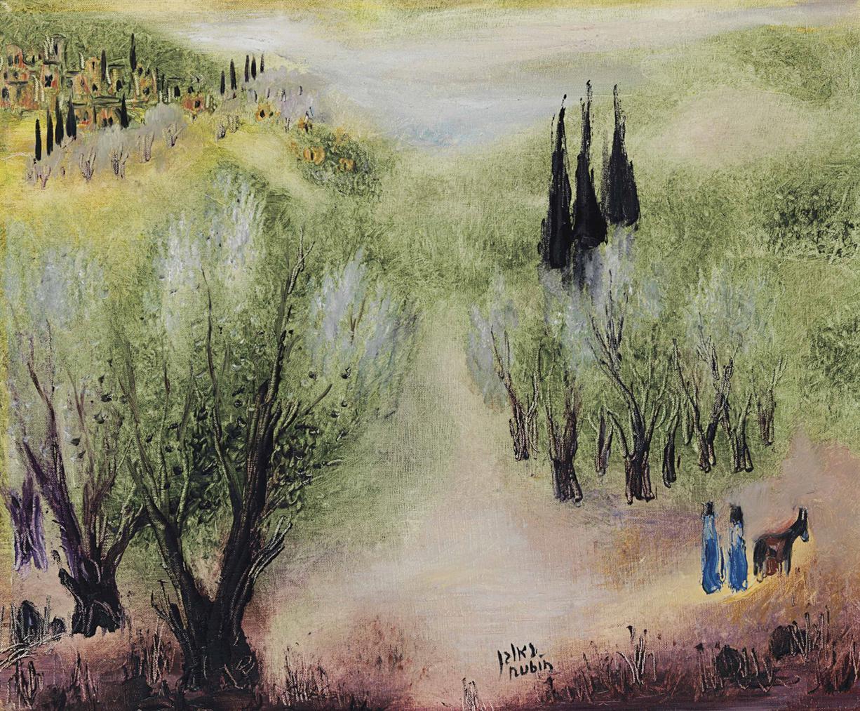 Reuven Rubin-In Galilee-