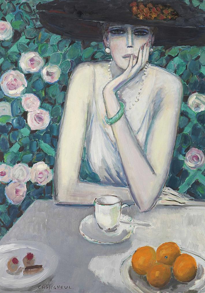 Jean-Pierre Cassigneul-Apres Le Dejeuner-1988