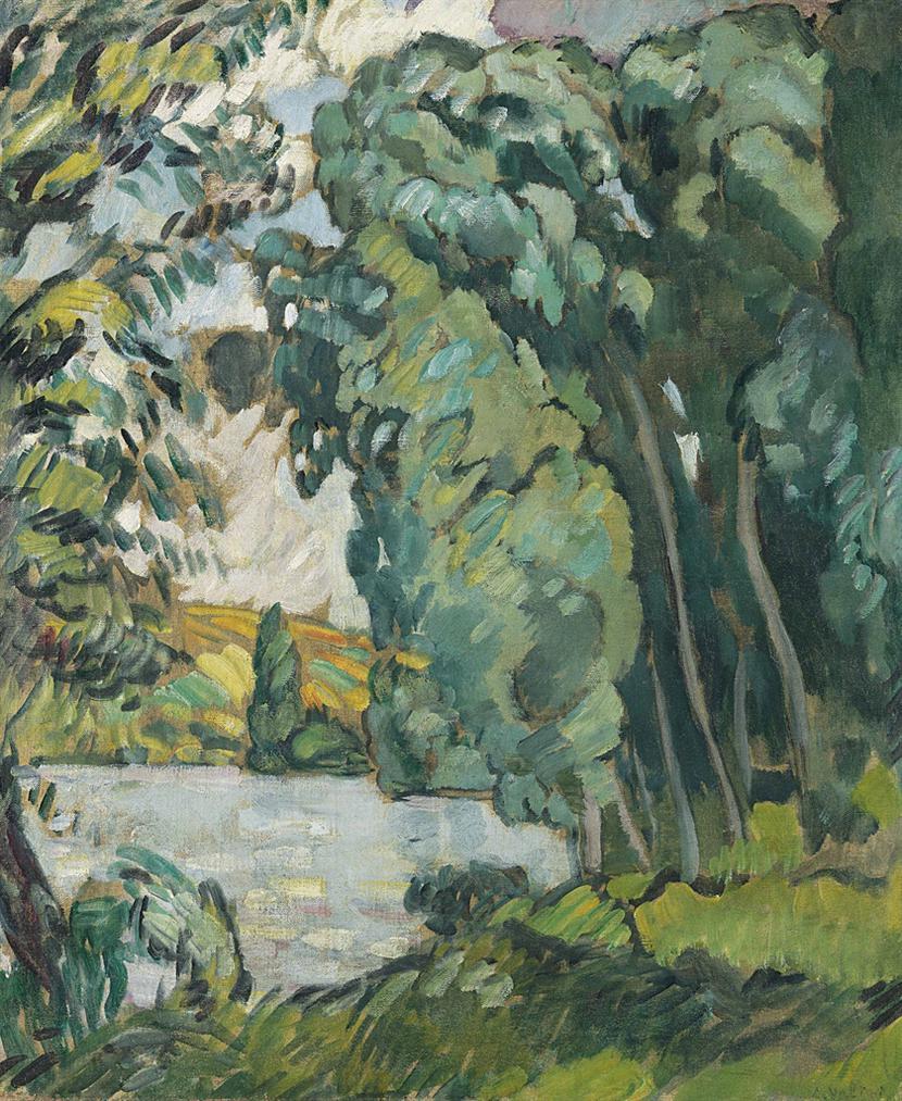 Louis Valtat-Les Andelys-1914