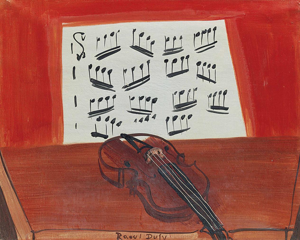Raoul Dufy-Le Violon-1948
