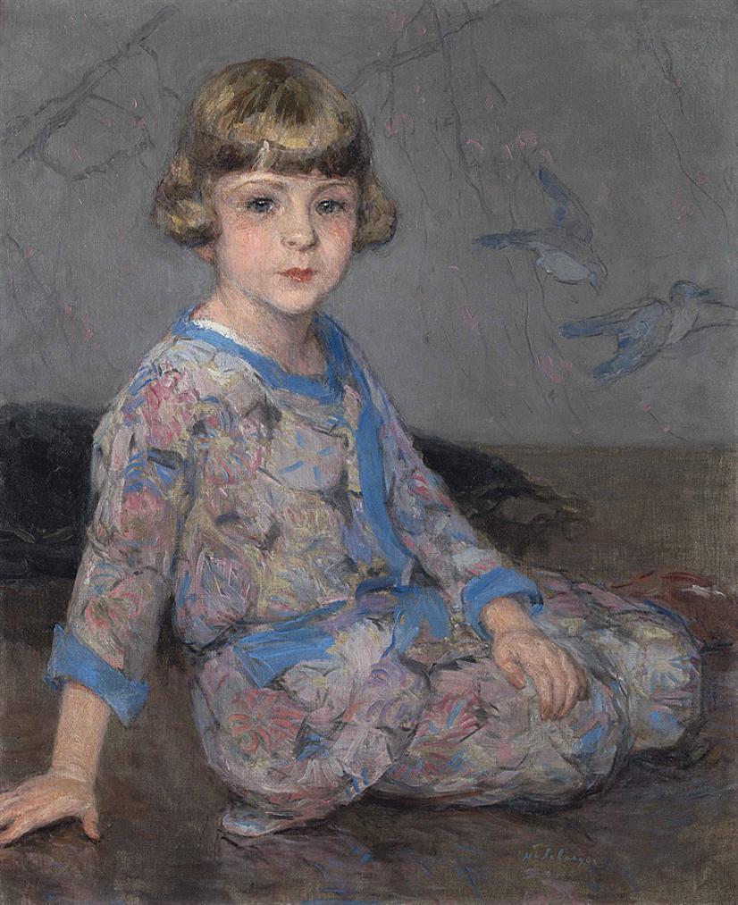 Henri Lebasque-Lenfant Au Kimono-