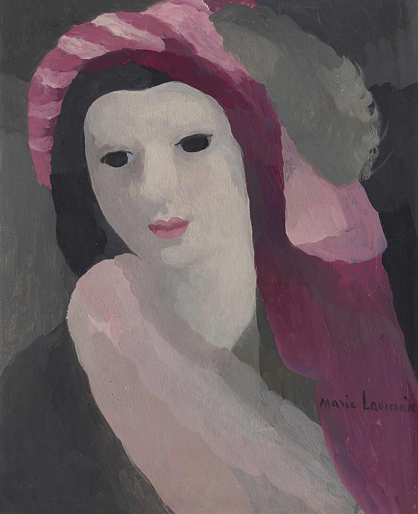 Marie Laurencin-Jeune Fille Au Turban-1928