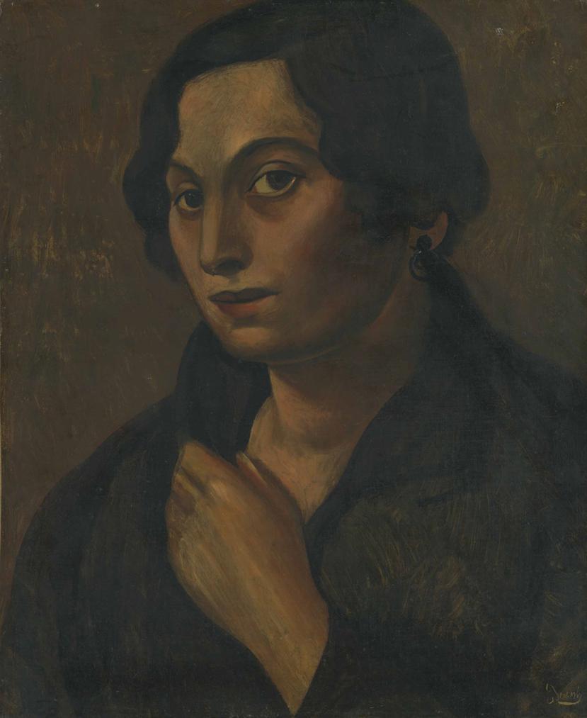 Andre Derain-Buste De Femme-1922