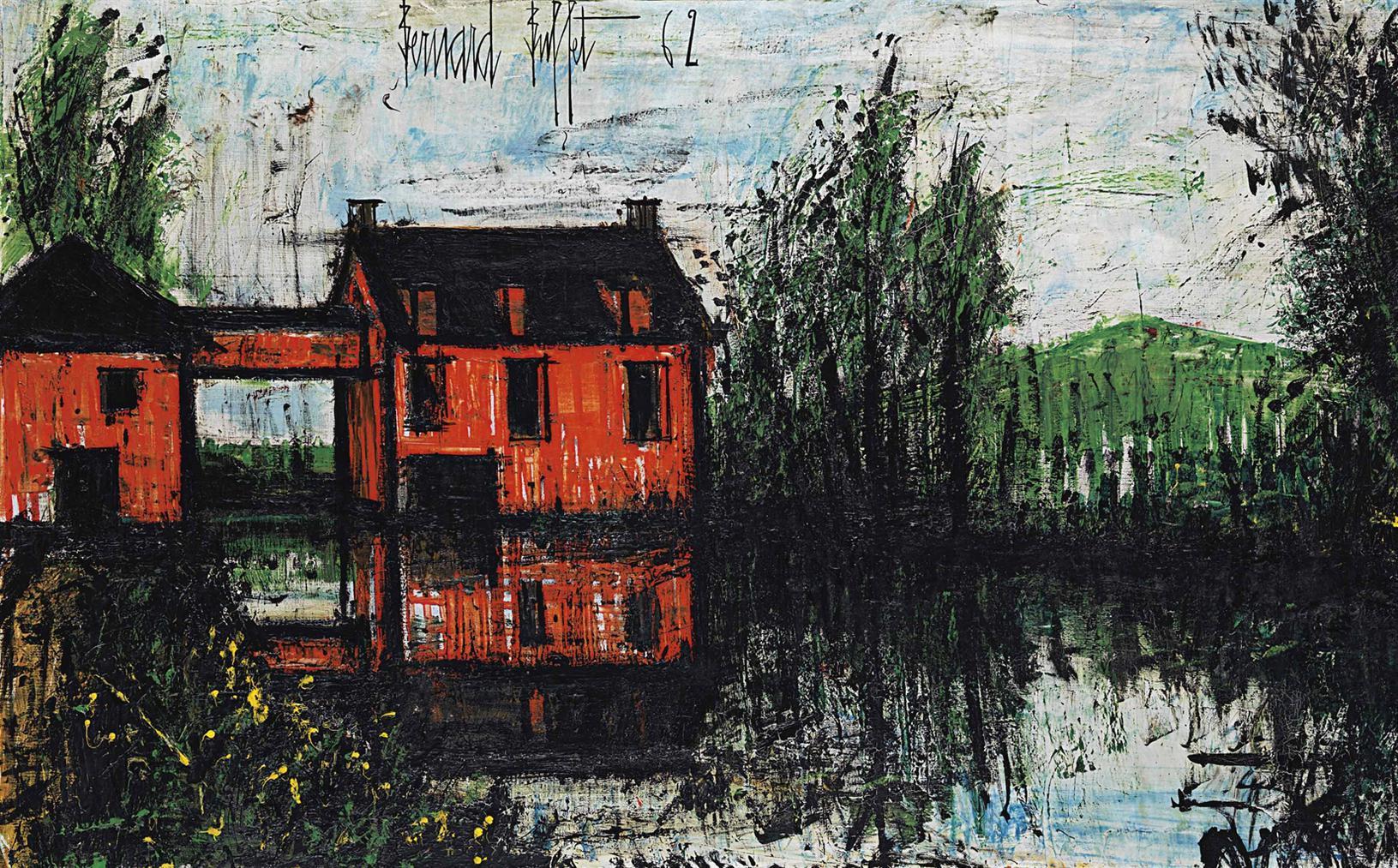 Bernard Buffet-Verneuil, Le Moulin-1962