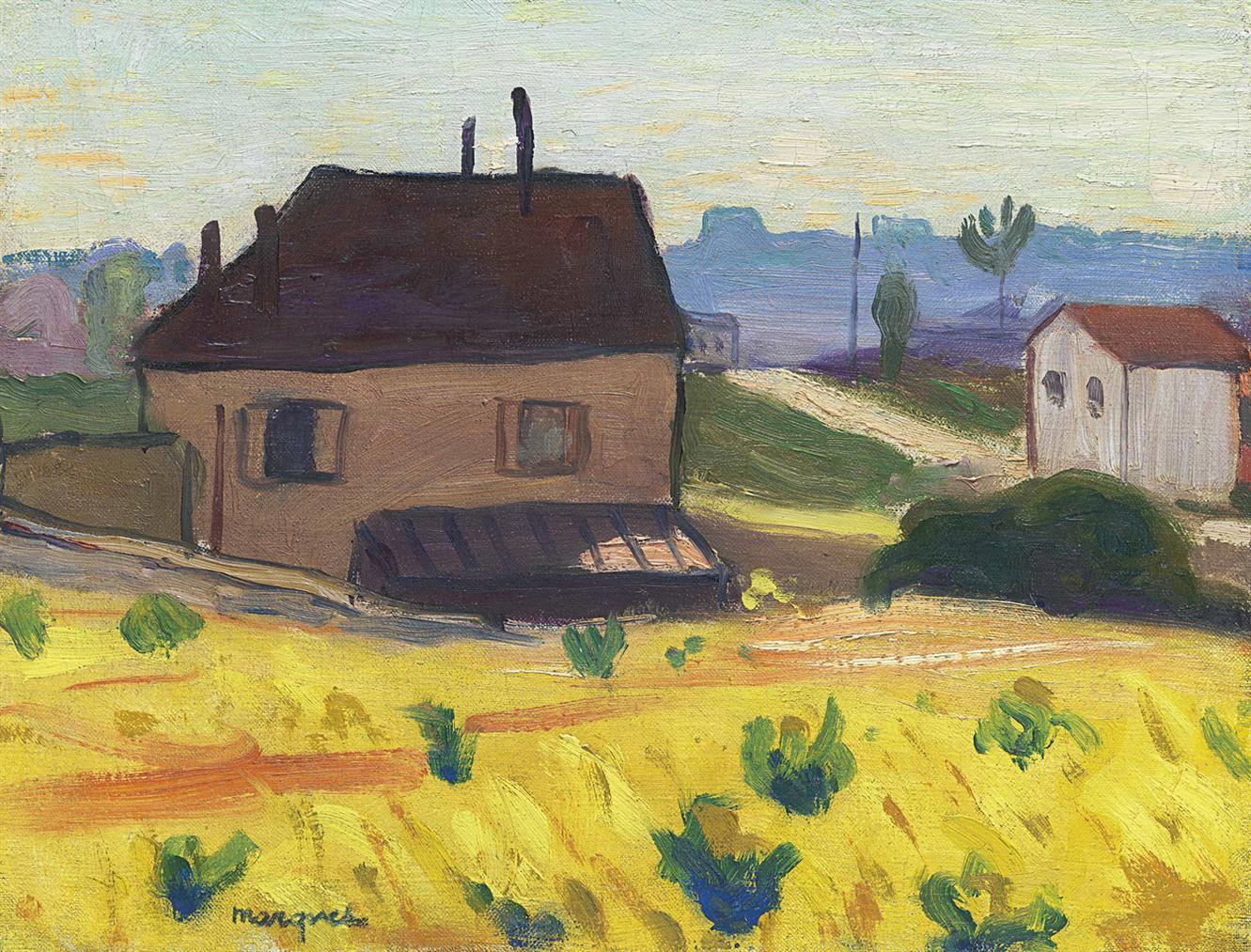 Albert Marquet-Maison A Arcueil-Cachan-1899