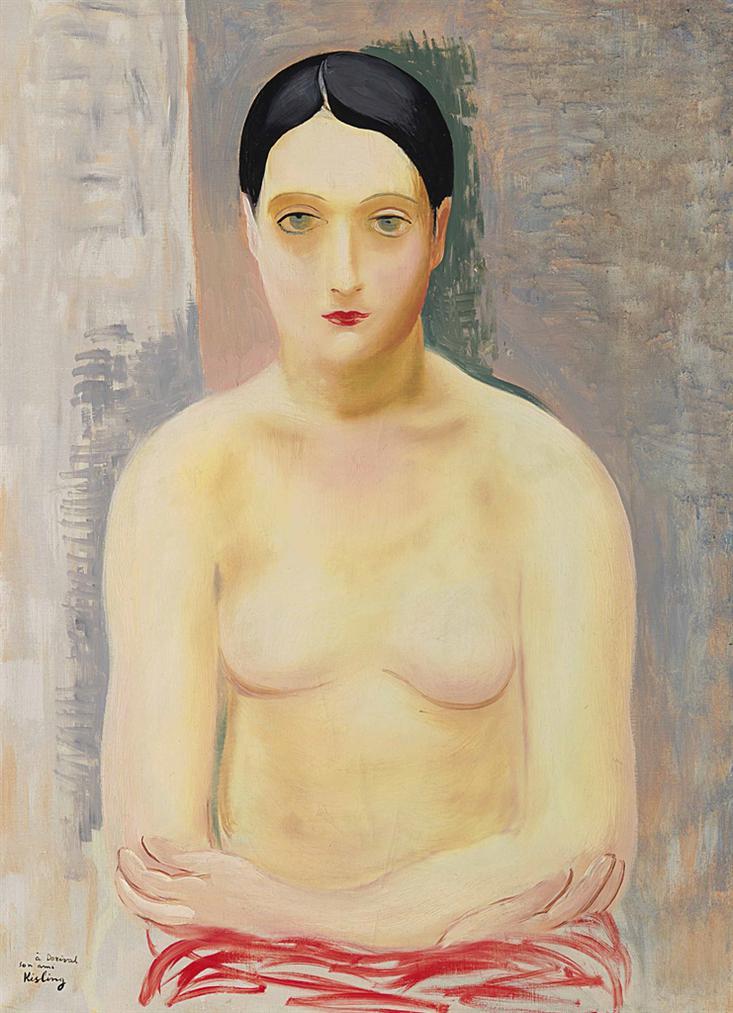 Moise Kisling-Nu-1931