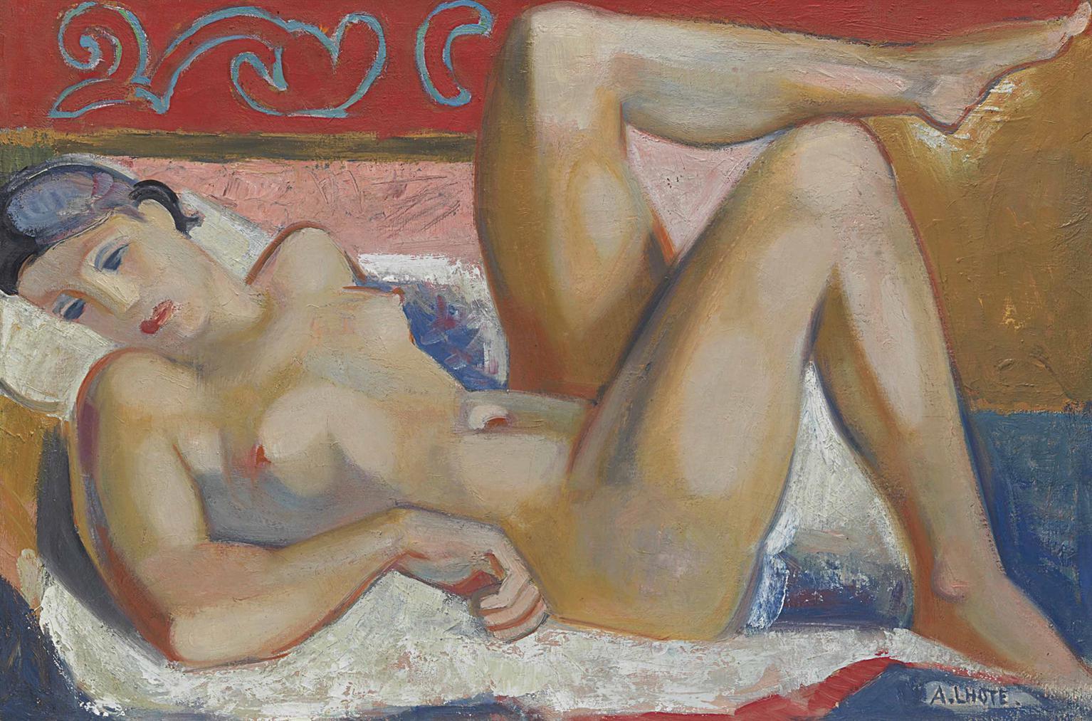 Andre Lhote-Nu Allonge-1934