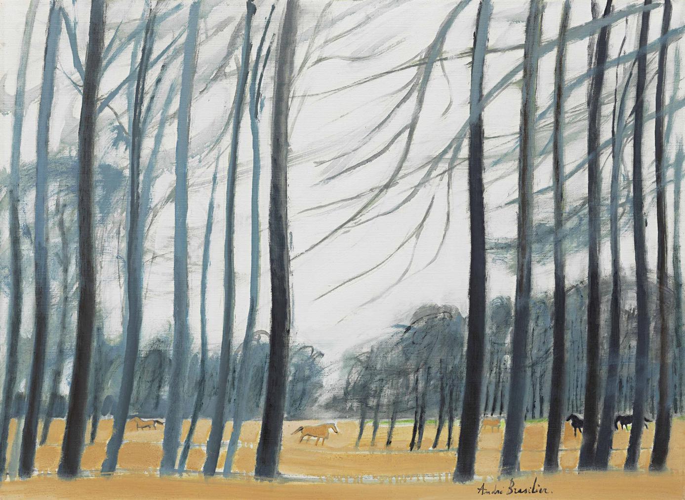 Andre Brasilier-Paysage Danjou-1979