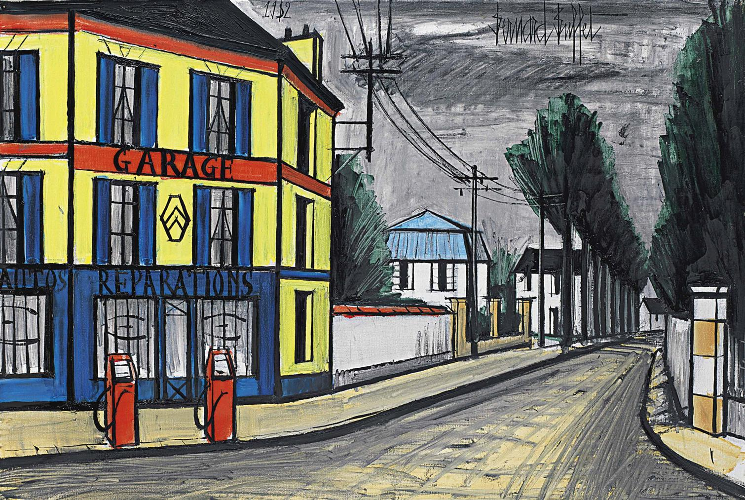 Bernard Buffet-Garage-1982